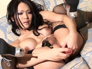 Large Boobed Ladyboys Pose For Shooting And Suck Rafes Cock shemale asian shemale big tits shemale hd