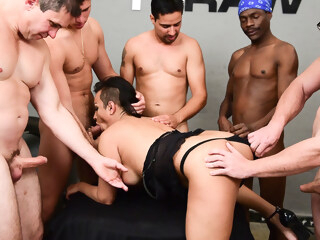 How many cocks can Mokik can take shemale asian shemale big tits shemale blowjob