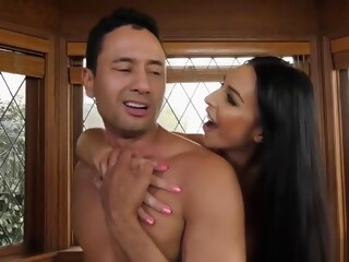 Chanel Santini seduce her professor. shemale bareback shemale big tits shemale stockings